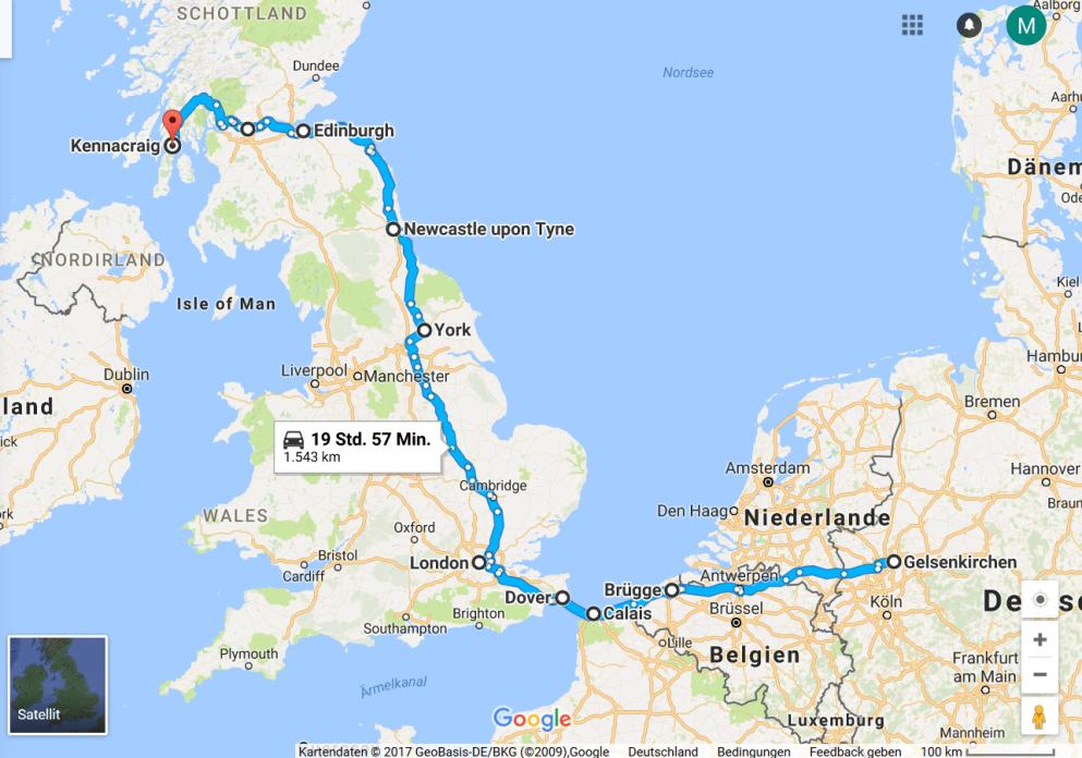 schottland route 1