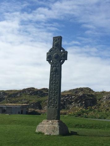 Keltisches Kreuz auf Iona